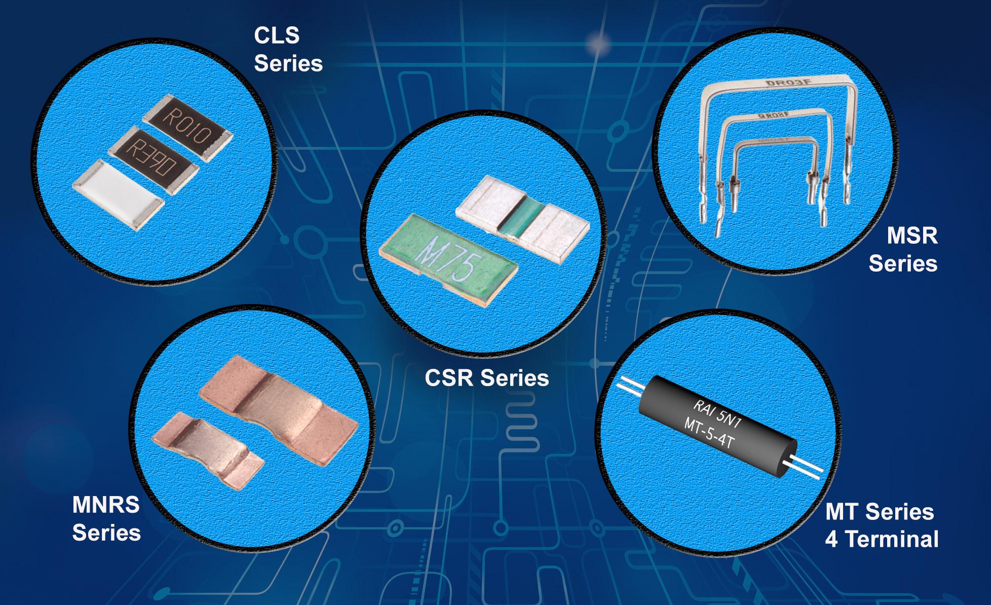 Current Sensing Applications Insert A Low Ohmic Precision Resistor Series Resistors Sense