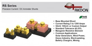 DC Current Shunts