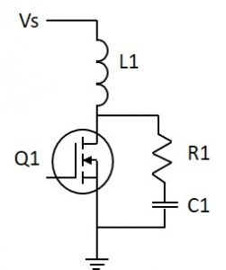 simple snubber circuit using power film resistors