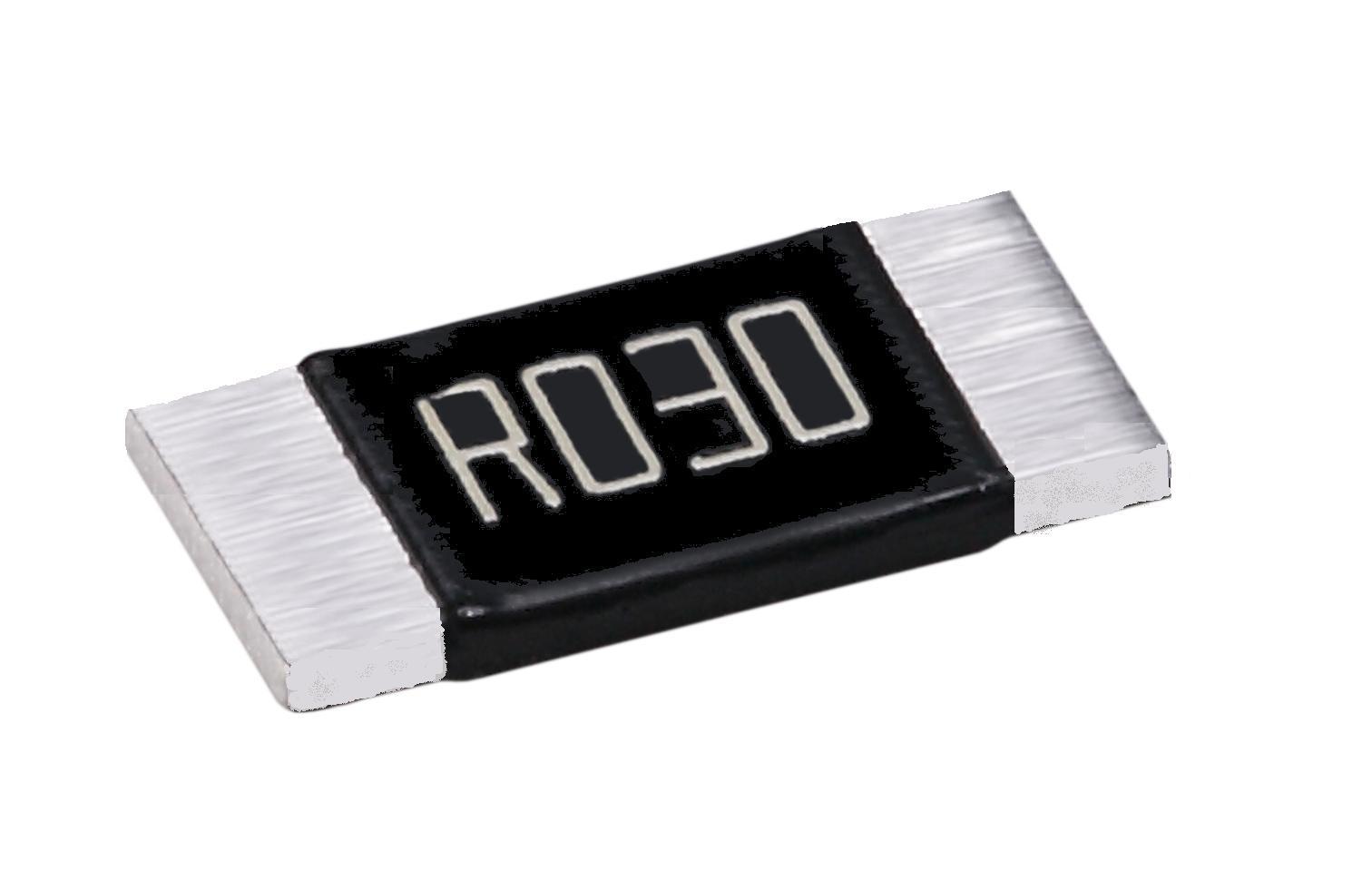 Metal strip resistors